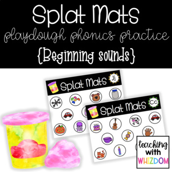 Splat Mats {Beginning Sound Practice}