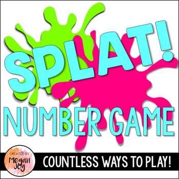 Splat! Number Recognition Game