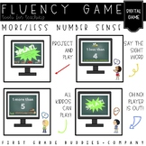 More / Less | Number Sense | Fluency Game | Project and Play | Digital