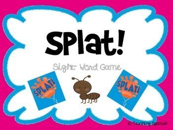 Splat! Sight Words