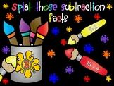 Splat!  Splat!  Subtraction Math Facts
