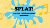 Splat! Treble Clef Note Naming Game