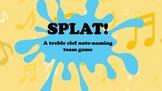 Splat! Treble Clef Note Naming Game