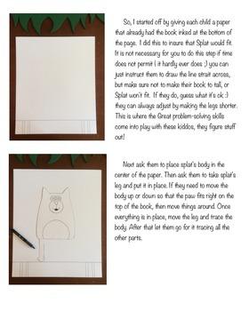 Splat the Cat Art Lesson