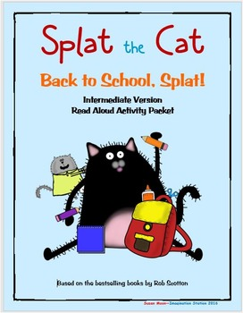 Splat the Cat-Back to School, Splat! Intermediate Activity Packet
