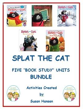 Splat the Cat Bundle of Five Story Units