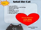 Fun Literacy Activities and Printables with Splat the Cat