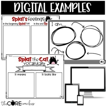 Splat the Cat: Interactive Read-Aloud Lesson Plans and Activities