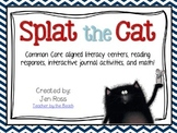 Splat the Cat - Reading and Writing Activities