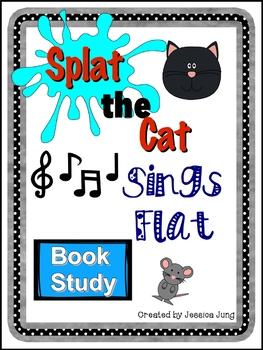 Splat the Cat Sings Flat Book Study