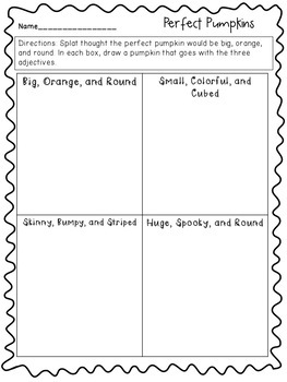 Splat the Cat and the Pumpkin Picking Plan Book Unit