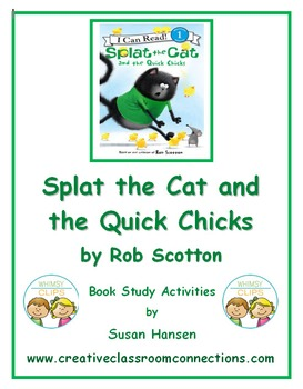 Splat the Cat and the Quick Chicks Activities