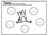 Splat the Cat literacy activities