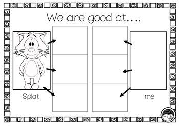 Splat the cat  ~ A week of literacy activities