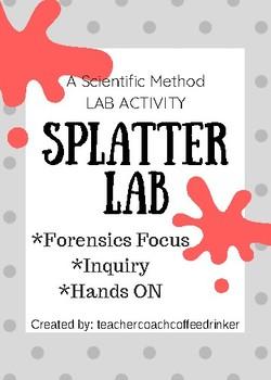 Splatter Lab- Scientific Method