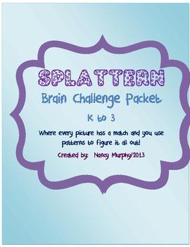 Splattern~Challenge Packet K-3