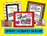 Splat the Cat Holiday Bundle - Reading Comprehension Craftivities