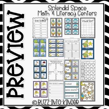 Splendid Space Unit - Common Core Standards Included