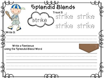 Splendid Springy Blends & Digraphs-Common Core Aligned