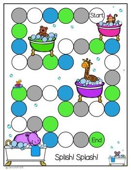 Splish! Splash! Animal Baths - Common Core Connections - Treasures Grade 2