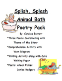 Splish, Splash Animal Baths Poetry Pack