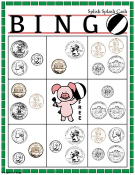 Splish Splash Cash BINGO!