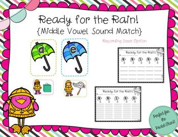 Splish, Splash, I Was Learning to Read! {Spring Literacy Stations}