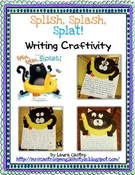 Splish, Splash, Splat - Writing Craftivity - English and Spanish