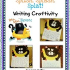 Splish, Splash, Splat - Writing Craftivity - English and Spanish