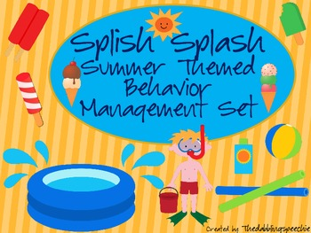 Splish Splash Summer Themed Behavior Management Set