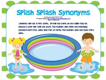 Splish Splash Synonym Match