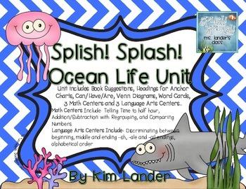 Splish Splash an Ocean Unit