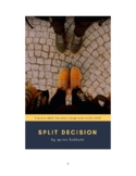 Split Decision: a humorous middle school play for character education