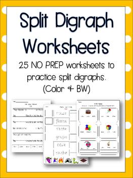 Split Digraph Worksheets & Teaching Resources | Teachers Pay Teachers