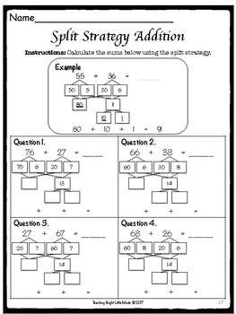 Split Strategy Addition