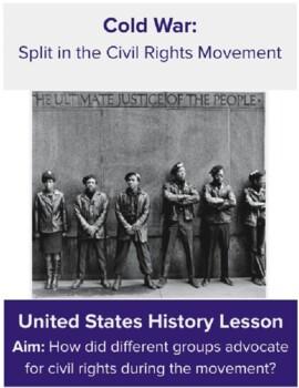 Split in the Civil Rights Movement