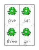 Splotch Sight Word Game #3