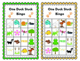 Spluck!  One Duck Stuck Bingo