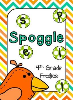 Spoggle - Yellow, Orange, Turquoise, and Lime Theme