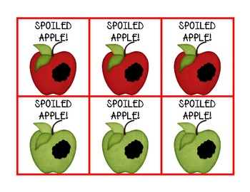 "Spoiled Apple! Short and Long ""a"" 3 in 1"