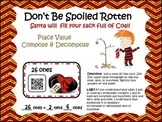 Spoiled Rotten: Decompose Place Value (QR Code Fun)