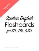 Spoken English Flashcard Set