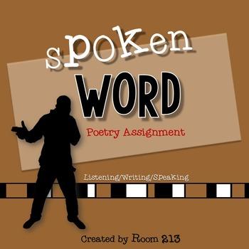 Spoken Word Poetry Assignment