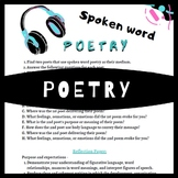 Distance Learning Spoken Word Poetry Slam Poetry