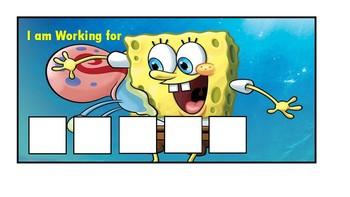 Sponegbob Squarepants Token Board