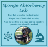 Sponge Absorbency Lab