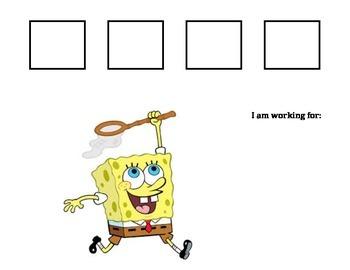Sponge Bob Token Board