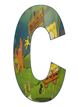 SpongeBob Alphabet