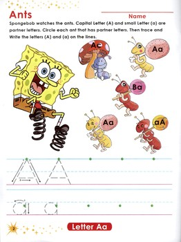 SpongeBob - Alphabet - Complete Book