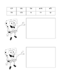 SpongeBob Digraphs wh- and th- sort